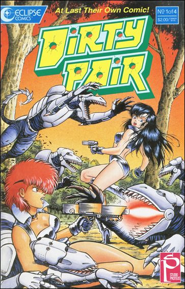 Dirty Pair (1988) 1-A by Eclipse