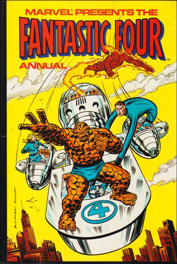 Fantastic Four Annual (UK) 1980-A by Marvel UK
