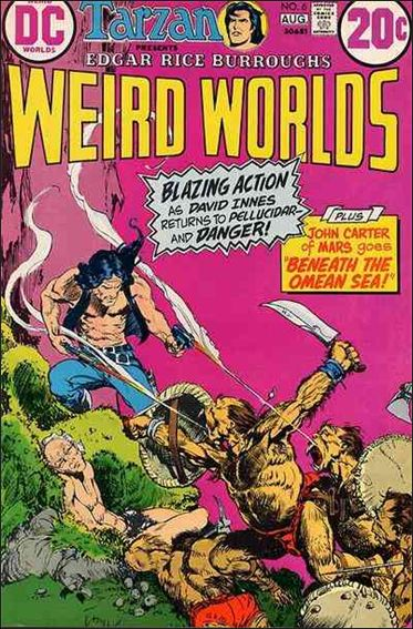 Weird Worlds (1972) 6-A by DC