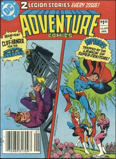 Adventure Comics (1938) 495-A by DC