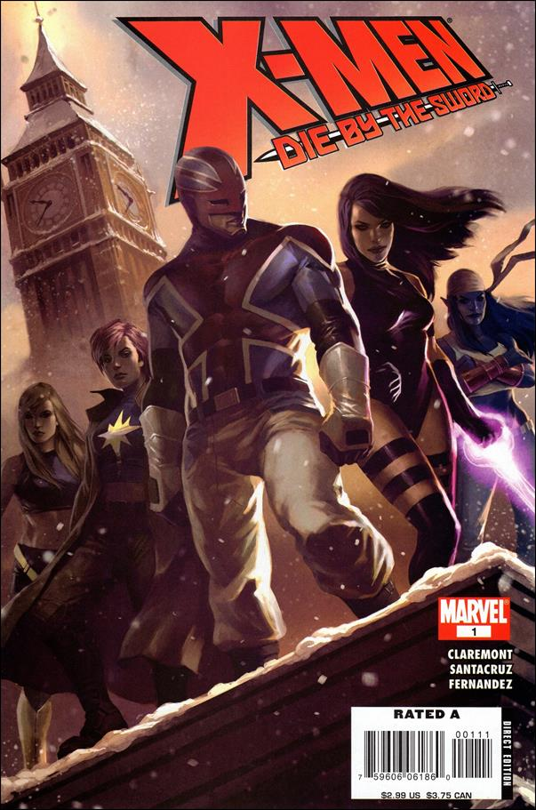 X-Men: Die by the Sword 1-A by Marvel