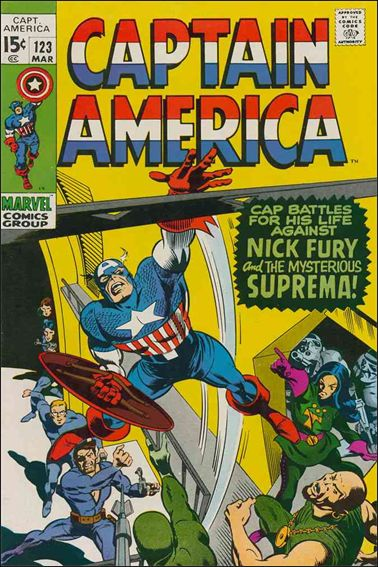 Captain America (1968) 123-A by Marvel