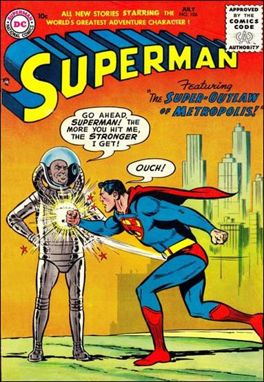 Superman (1939) 106-A by DC