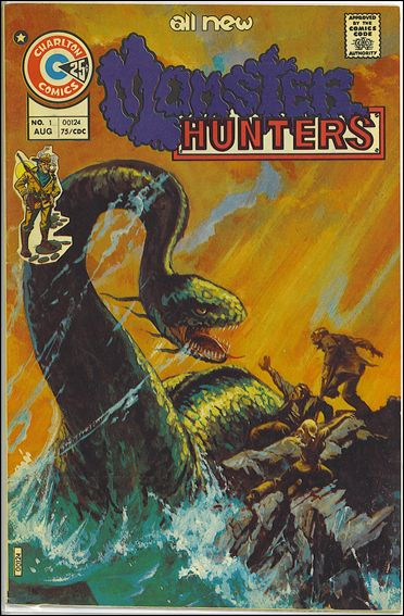 Monster Hunters 1-A by Charlton