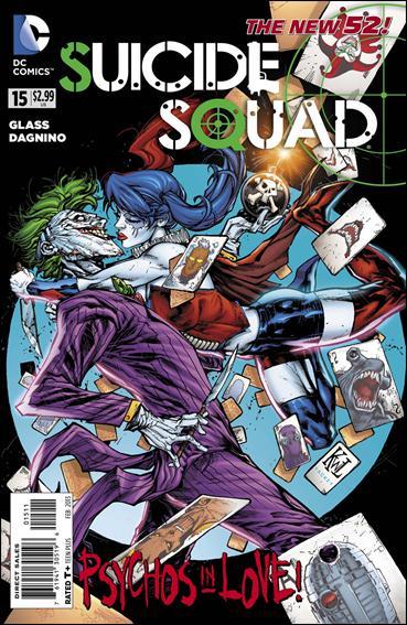 Suicide Squad (2011) 15-A by DC