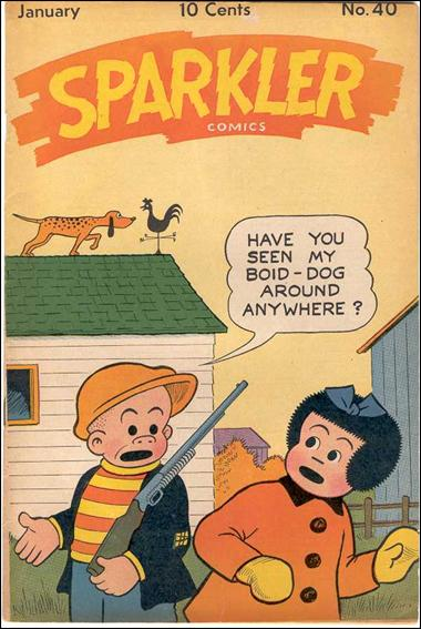 Sparkler Comics (1941) 40-A by United Features Syndicate