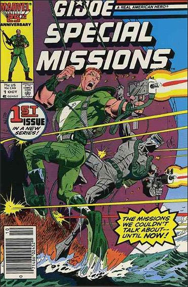 G.I. Joe: Special Missions (1986) 1-A by Marvel