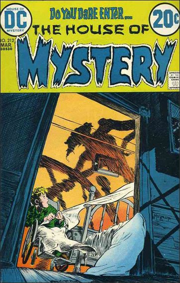 House of Mystery (1951) 212-A by DC