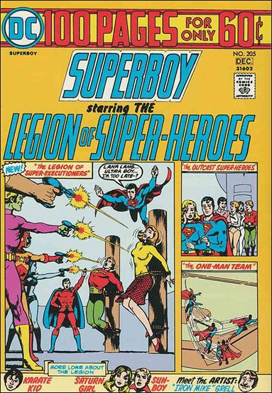 Superboy (1949) 205-A by DC