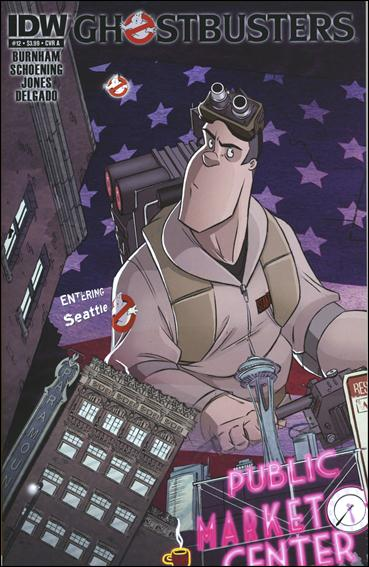 Ghostbusters (2011) 12-A by IDW