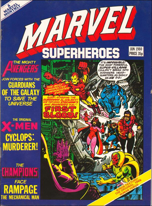 Marvel Superheroes (UK) 362-A by Marvel UK