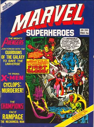 Marvel Superheroes (UK) 362-A