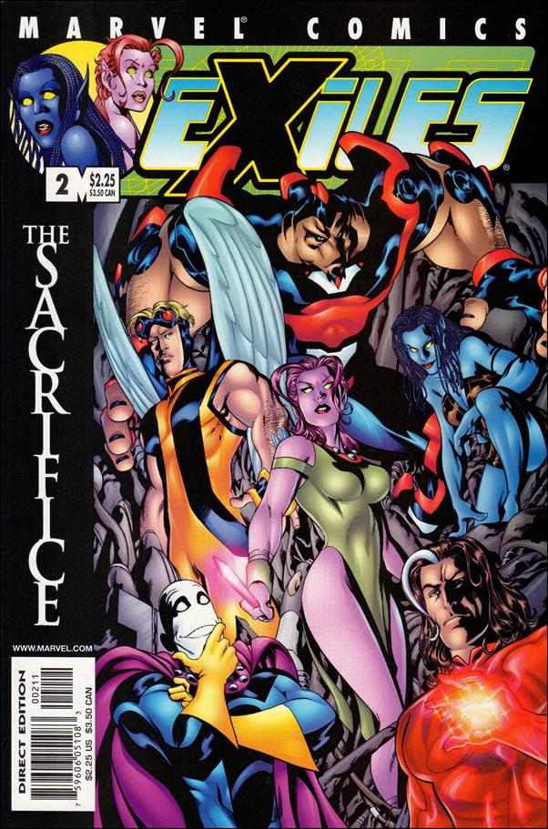 Exiles (2001) 2-A by Marvel