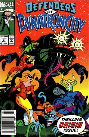 Defenders of Dynatron City 2-A