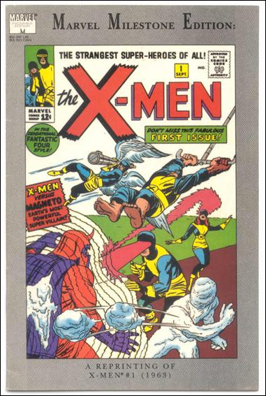 Marvel Milestone Edition: X-Men 1-B by Marvel
