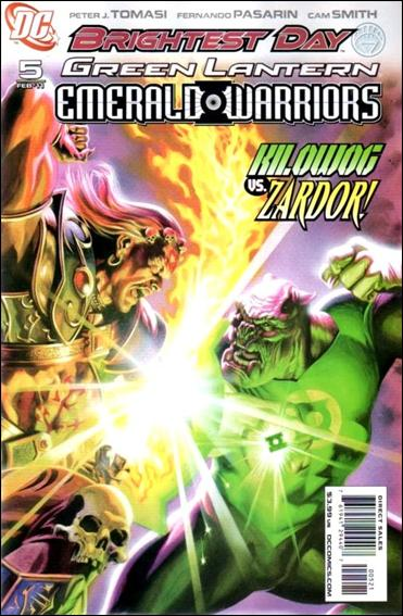 Green Lantern: Emerald Warriors 5-B by DC