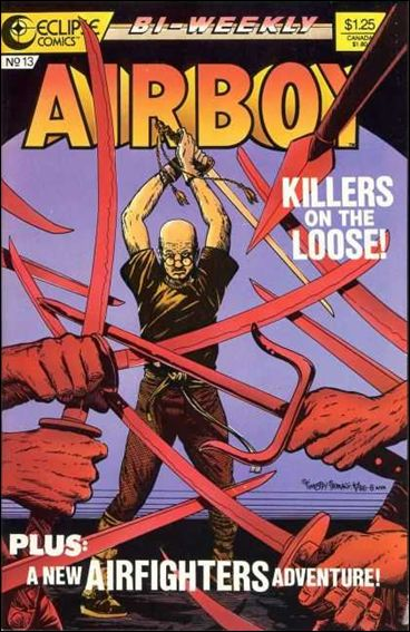 Airboy (1986) 13-A by Eclipse