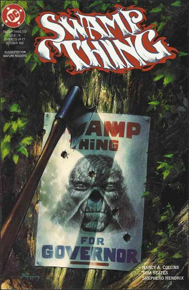 Swamp Thing (1986) 112-A by Vertigo