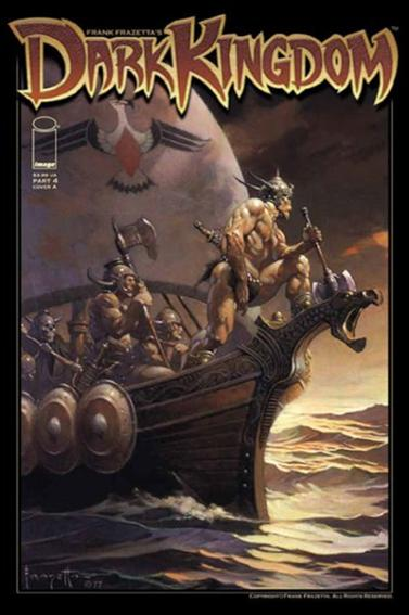 Frank Frazetta's Dark Kingdom 4-A by Image