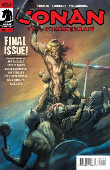 Conan the Cimmerian 25-A by Dark Horse