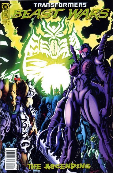 Transformers: Beast Wars: The Ascending 4-B by IDW