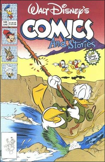 Walt Disney's Comics and Stories (1940) 548-A by Dell