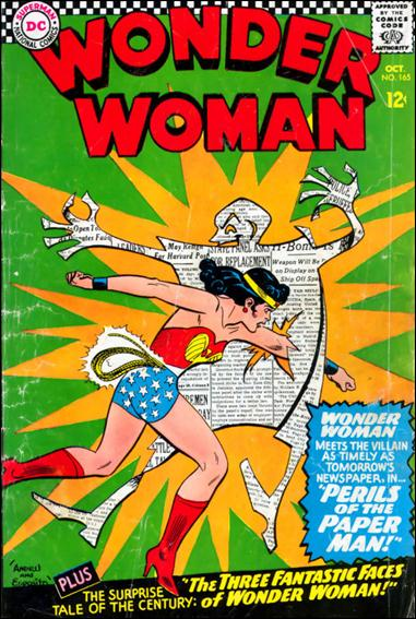 Wonder Woman (1942) 165-A by DC