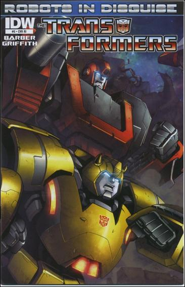 Transformers: Robots in Disguise 5-C by IDW