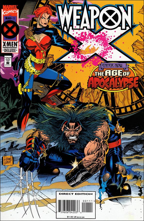 Weapon X (1995) 1-A by Marvel