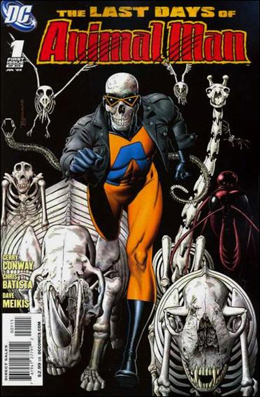 Last Days of Animal Man 1-A by DC