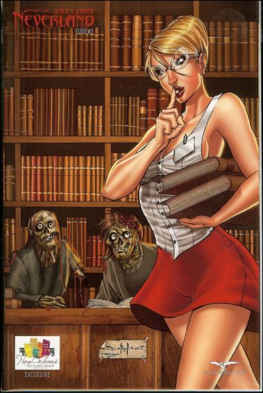 Grimm Fairy Tales: Tales from Neverland 2-C by Zenescope Entertainment