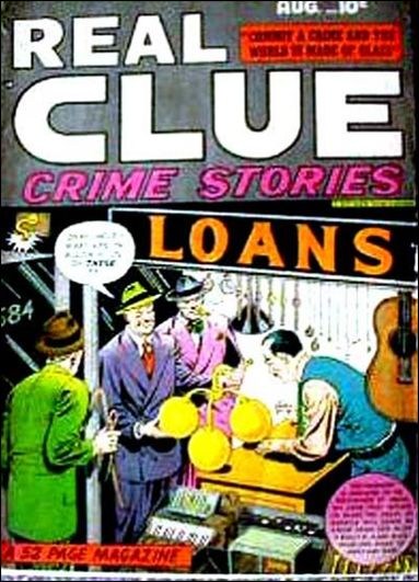 Real Clue Crime Stories (1948) 6-A by Hillman