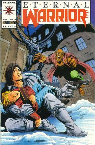 Eternal Warrior (1992) 10-A by Valiant