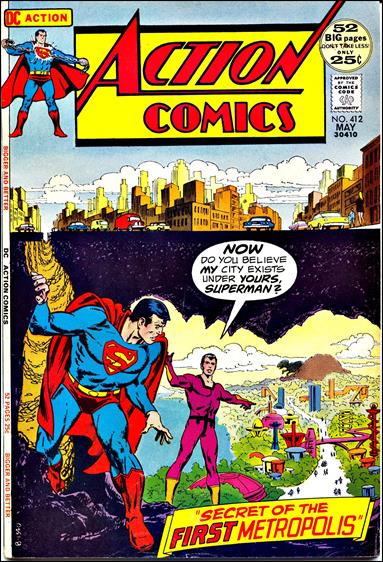 Action Comics (1938) 412-A by DC