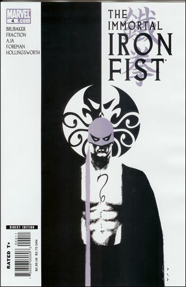 Immortal Iron Fist 4-A by Marvel