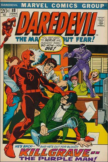 Daredevil (1964) 88-A by Marvel