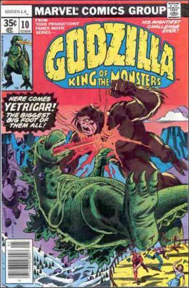 Godzilla (1977) 10-A by Marvel