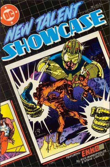 New Talent Showcase (1984) 4-A by DC