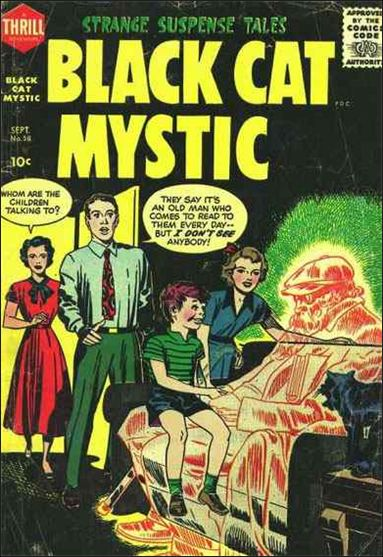 Black Cat Comics 58-A by Harvey