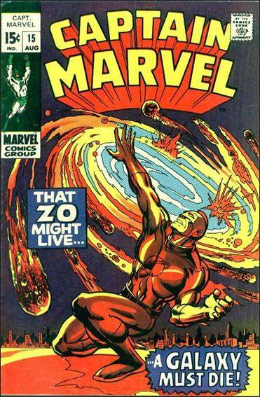Captain Marvel (1968) 15-A by Marvel