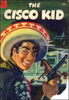 Cisco Kid (1951) 24-A by Dell