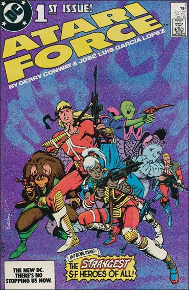 Atari Force (1984) 1-A by DC