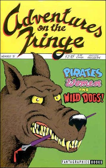 Adventures on the Fringe 5-A by Fantagraphics