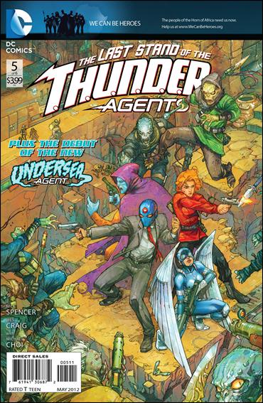 T.H.U.N.D.E.R. Agents (2012) 5-A by DC