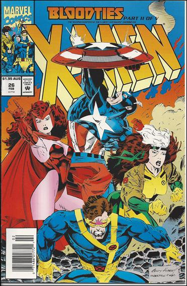X-Men (1991) 26-B by Marvel
