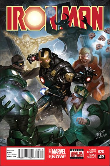 Iron Man (2013) 28-A by Marvel