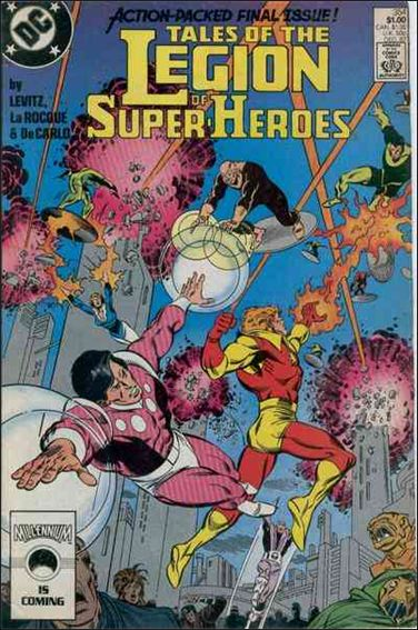 Tales of the Legion of Super-Heroes 354-A by DC