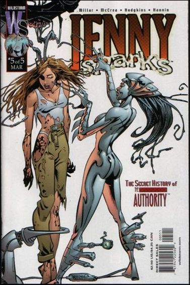 Jenny Sparks: The Secret History of the Authority 5-A by WildStorm