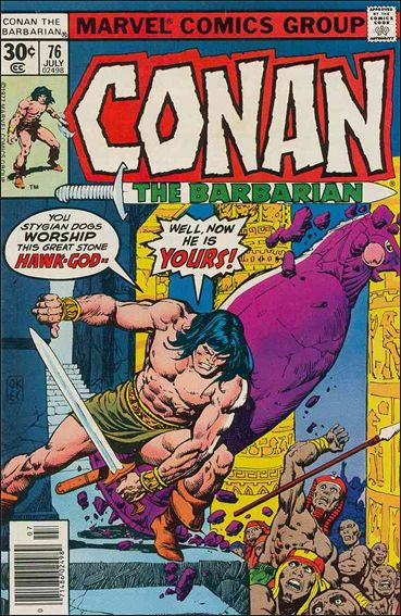 Conan the Barbarian (1970) 76-A by Marvel