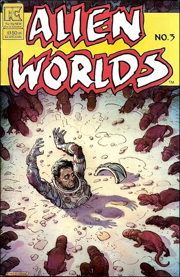 Alien Worlds (1982) 3-A by Pacific Comics